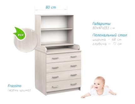 Комод пеленальный Albero Bianco Sweet baby
