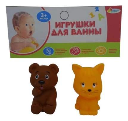Игрушки для ванной Кот и мишка Играем вместе LXB336_340