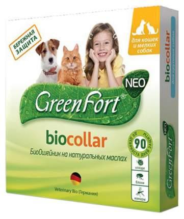 Ошейник от блох и клещей Green Fort neo БиоОшейник для кошек и мелких собак 65621