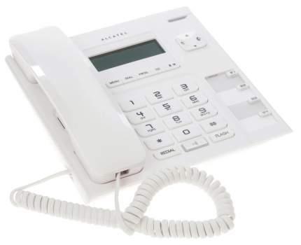 Телефон проводной Alcatel T56 White