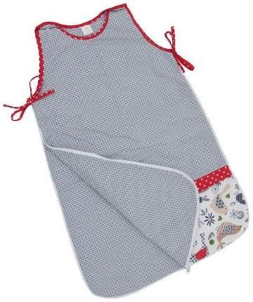 Спальный мешок детский Polini Кантри Красный