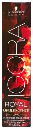 Краска Schwarzkopf Igora Royal Опулесенс 6-78 Тёмный русый медный красный 60 мл
