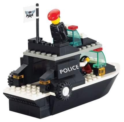 Конструктор пластиковый Sluban Военная Полиция Катер M38-B1700