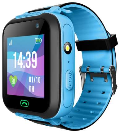 Детские смарт-часы Jet Kid Swimmer Black/Blue