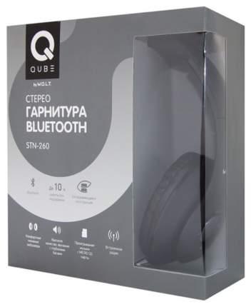 Беспроводные наушники W.O.L.T. QUB STN-260 Black