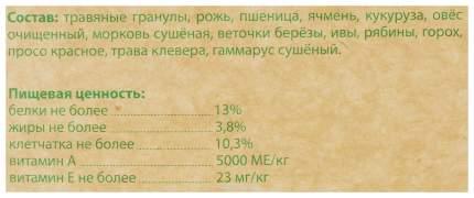Корм для песчанок Чика Чика био 1 кг 1 шт