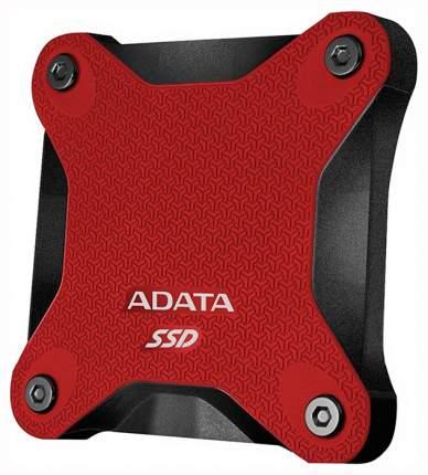 Внешний SSD накопитель ADATA SD600 512GB Red/ Black (ASD600-512GU31-CRD)