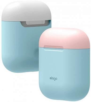 Чехол Elago Silicone DUO (EAPDO-PBL-PKWH) для AirPods (Pastel Blue/Pink/White)