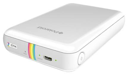 Компактный фотопринтер Polaroid Zip POLMP01W