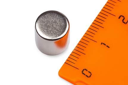 Неодимовый магнит Forceberg диск 10х10мм, 4шт