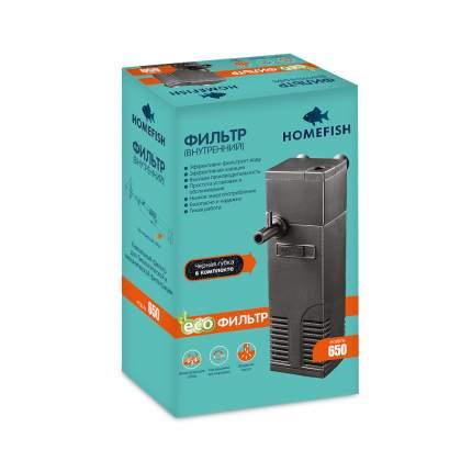 Фильтр для аквариума внутренний Home-Fish AP-650L, 350 л/ч, 5 Вт