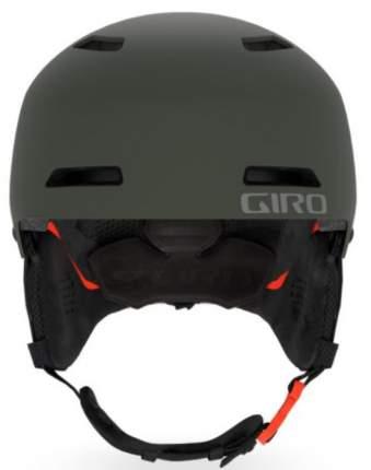 Горнолыжный шлем юниорский Giro Crue 2019, хаки, M