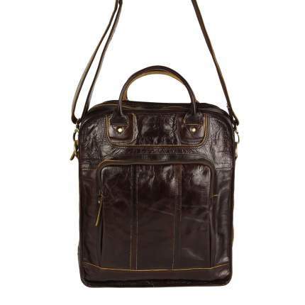 Рюкзак кожаный Bufalo TR-01 коричневый