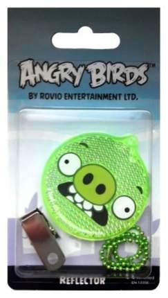 """Световозвращатель пешеходный Сoreflect Angry Birds """"Pig angry"""" (зеленый)"""