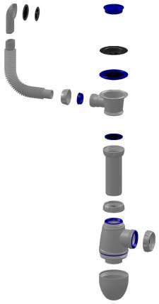 Сифон для кухонной мойки UNICORN B421