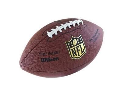Мяч для американского футбола Wilson Duke Replica, 7, коричневый