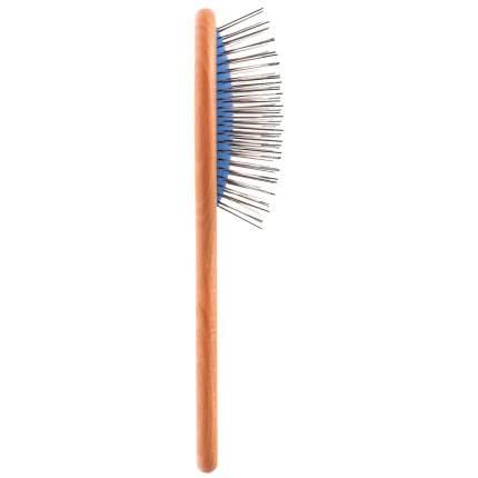 Расческа для животных DeLIGHT, овальная односторонняя, супермягкий корд, зуб 2,2 см