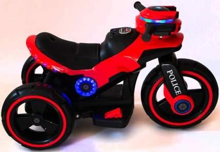Детский мотоцикл на аккумуляторе Y-MAXI Police Red - SW198B-RED
