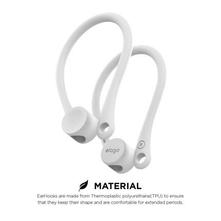 Держатель Elago Earhook (EAP-HOOKS) для наушников Apple AirPods (White)
