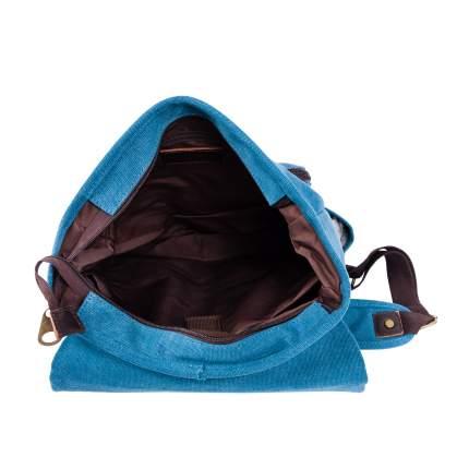 Рюкзак кожаный Polar П3788 12 л синий