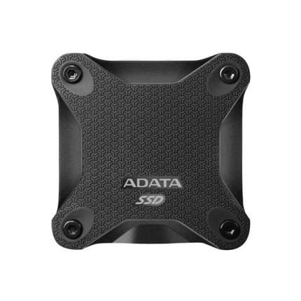 Внешний SSD накопитель ADATA SD600 256GB Black (ASD600-256GU31-CBK)