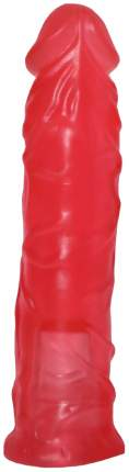Розовая насадка-фаллоимитатор для трусиков Harness 20 см