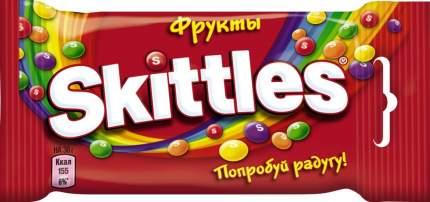 Драже Skittles фрукты 38 г 12 штук