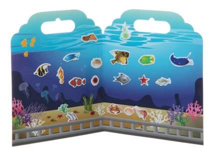 Набор наклеек нано-стикер аквариум, Bondibon 19х24 см