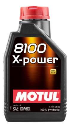 Моторное масло Motul 8100 X-Power 10w-60 1л