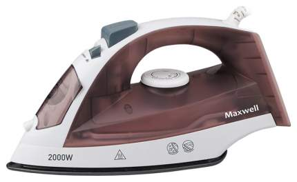 Утюг Maxwell MW-3049 White/Brown