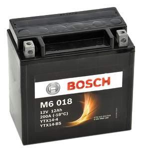 Аккумулятор автомобильный BOSCH Funstart AGM 0 092 M60 180 12 Ач