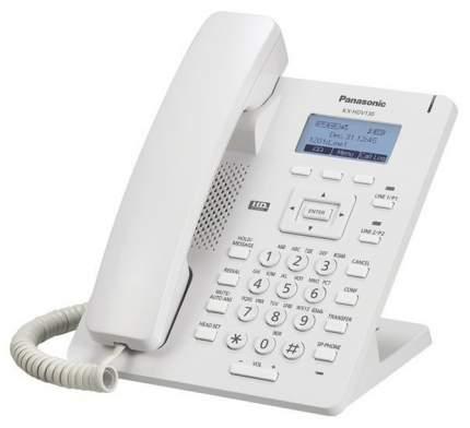 Проводной SIP-телефон Panasonic KX-HDV130RU белый