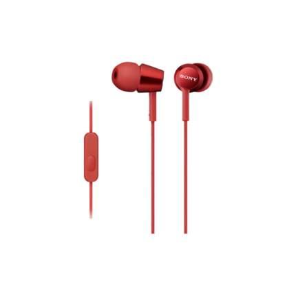 Наушники Sony MDR-EX150 Red