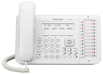 Телефон IP Panasonic KX-DT543RU белый
