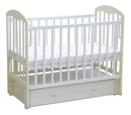 Кровать-маятник детская Фея 328 Белая-Ваниль