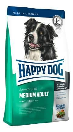Сухой корм для собак Happy Dog Supreme Fit & Well Medium, для средних пород, птица, 12,5кг