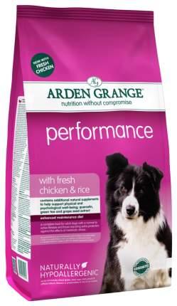 Сухой корм для собак Arden Grange Performance, курица,  12кг
