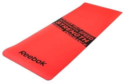 Коврик для фитнеса Reebok RAMT-11024RDS красный 8 мм