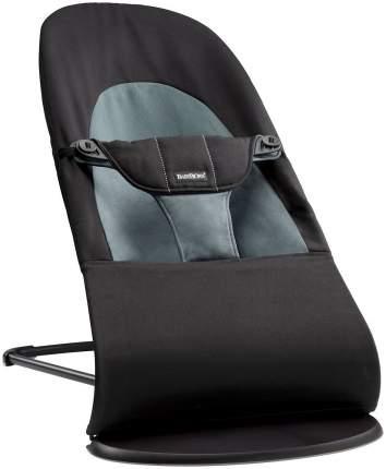 Шезлонг-кресло BabyBjorn Balance Soft черный/серый (0050.22)