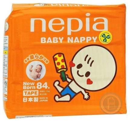 Подгузники для новорожденных Nepia Baby Nappy NB (0-5 кг), 84 шт.