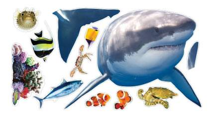 Настенный проектор Uncle milton Встреча с белой акулой In My Room