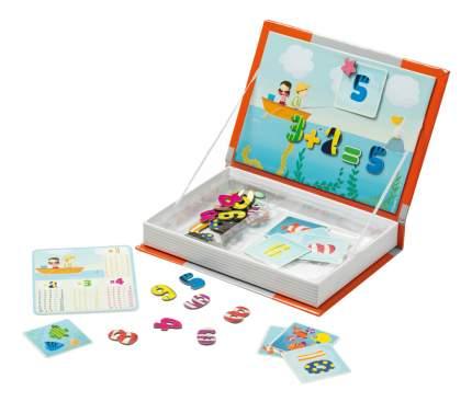 Настольная игра Janod Магнитная книга-игра Учимся считать