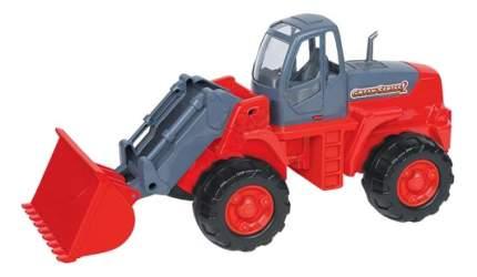 Трактор-погрузчик в сеточке Полесье