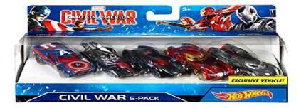 Игровой набор Marvel Hot Wheels Машинки серии Марвел