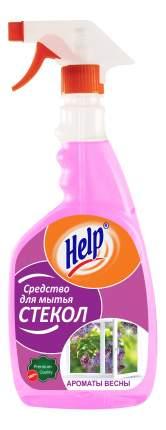 Чистящее средство для стекол и зеркал Help ароматы весны 750 мл