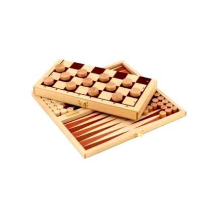 Настольная игра 2 в 1 PROFFI Шашки и нарды