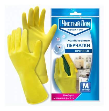 Чистый дом Перчатки Прочные латексные М