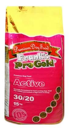 Сухой корм для собак Frank's ProGold Active, курица, 15кг
