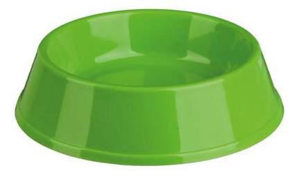 Одинарная миска для кошек TRIXIE, пластик, зеленый, 0.2 л