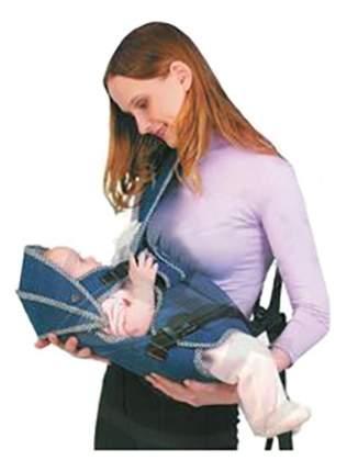 Рюкзак для переноски детей BabyStyle Мася джинс